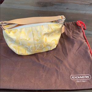 COACH small bag - YELLOW